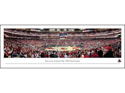 Louisville Cardinals Panoramic Unframed