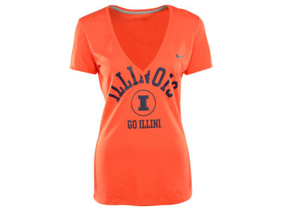 Illinois Fighting Illini Nike NCAA Womens School Tribute T-Shirt