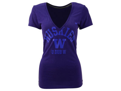 Washington Huskies Nike NCAA Womens School Tribute T-Shirt