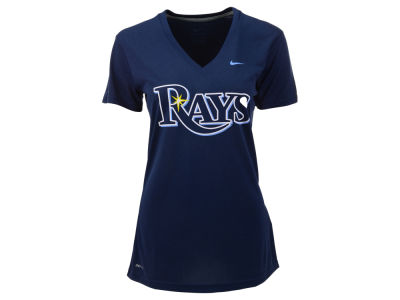 Tampa Bay Rays Nike MLB Women's Dri Fit Legend V-Neck T-Shirt
