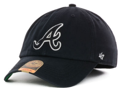 Atlanta Braves '47 MLB Black Out '47 FRANCHISE Cap