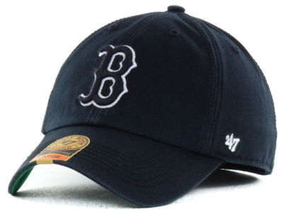 Boston Red Sox '47 MLB Black Out '47 FRANCHISE Cap