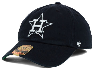 Houston Astros '47 MLB Black Out '47 FRANCHISE Cap