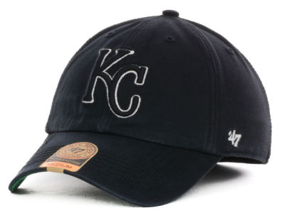 Kansas City Royals '47 MLB Black Out '47 FRANCHISE Cap