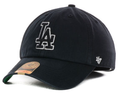 Los Angeles Dodgers '47 MLB Black Out '47 FRANCHISE Cap
