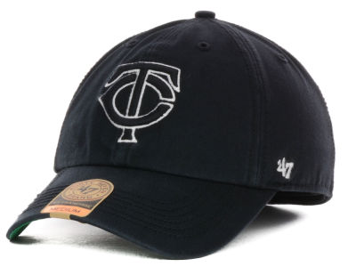 Minnesota Twins '47 MLB Black Out '47 FRANCHISE Cap