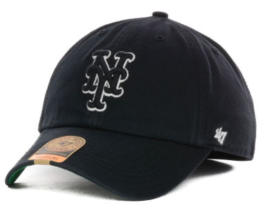 New York Mets '47 MLB Black Out '47 FRANCHISE Cap