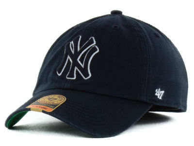 New York Yankees '47 MLB Black Out '47 FRANCHISE Cap