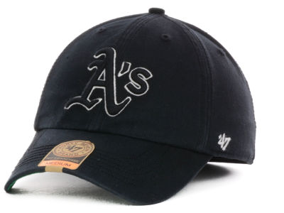 Oakland Athletics '47 MLB Black Out '47 FRANCHISE Cap