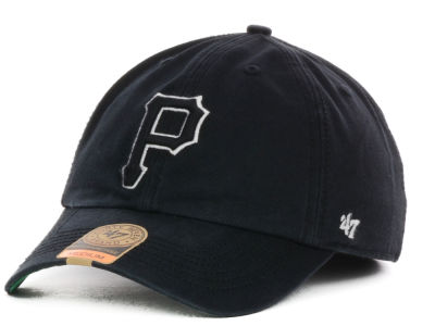 Pittsburgh Pirates '47 MLB Black Out '47 FRANCHISE Cap