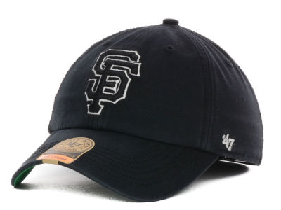 San Francisco Giants '47 MLB Black Out '47 FRANCHISE Cap