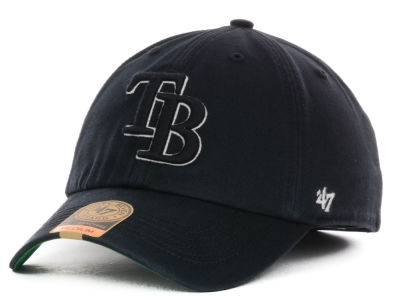Tampa Bay Rays '47 MLB Black Out '47 FRANCHISE Cap