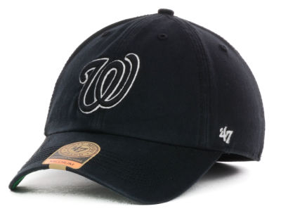 Washington Nationals '47 MLB Black Out '47 FRANCHISE Cap