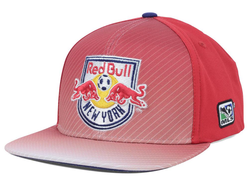 New York Red Bulls adidas MLS Player Snapback Cap  808a6019b2e