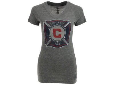 Chicago Fire adidas MLS Womens Supersize T-Shirt