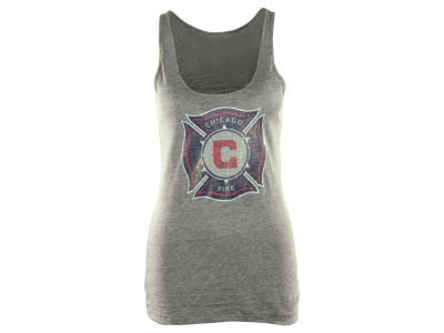 Chicago Fire adidas MLS Womens Pump It Up Tank
