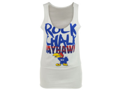 Kansas Jayhawks adidas NCAA Womens Shout Out Loud Tank