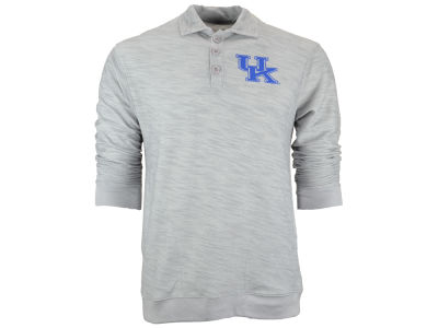 Kentucky Wildcats NCAA Men's Stadium Long Sleeve Polo Shirt