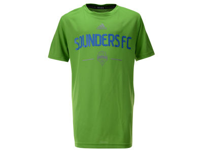 Seattle Sounders FC MLS Youth Team and Logo Climalite T-Shirt