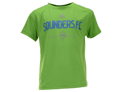 Seattle Sounders FC MLS Kids Team and Logo Climalite T-Shirt