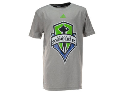 Seattle Sounders FC adidas MLS Youth Primary Logo Climalite T-Shirt