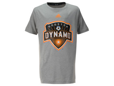 Houston Dynamo MLS Youth Primary Logo Climalite T-Shirt