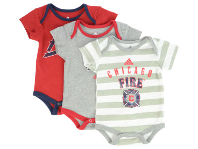 Chicago Fire MLS Newborn Hat Trick Body Suit