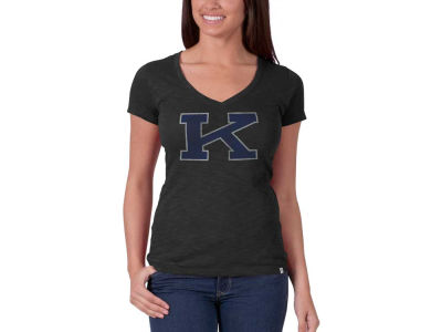 Kentucky Wildcats NCAA Womens Wordmark V-Scrum T-Shirt