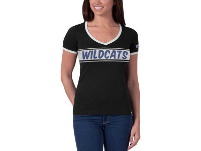 Kentucky Wildcats NCAA Womens Flyball Ringer T-Shirt