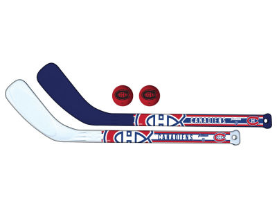 Montreal Canadiens 2-pack Hockey Stick Set