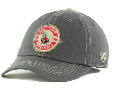 Ball State Cardinals Top of the World NCAA Trademark Relax Cap