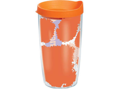 Clemson Tigers 16oz. Colossal Wrap Tumbler with Lid