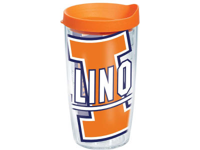 Illinois Fighting Illini 16oz. Colossal Wrap Tumbler with Lid