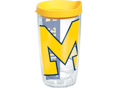 Michigan Wolverines 16oz. Colossal Wrap Tumbler with Lid