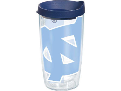 North Carolina Tar Heels 16oz. Colossal Wrap Tumbler with Lid