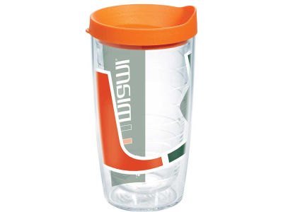 Miami Hurricanes 16oz. Colossal Wrap Tumbler with Lid