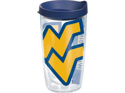 West Virginia Mountaineers 16oz. Colossal Wrap Tumbler with Lid