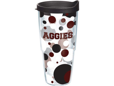 Texas A&M Aggies 24oz. Polka Dot Tumbler With Lid