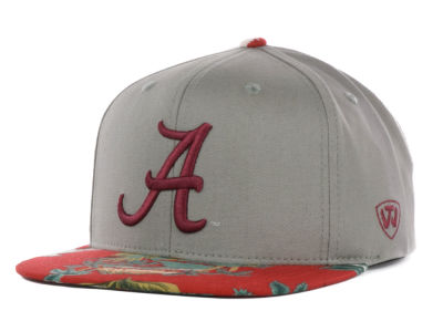 Alabama Crimson Tide Top of the World NCAA Shoreline Snapback Cap