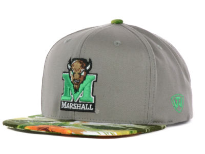 Marshall Thundering Herd Top of the World NCAA Shoreline Snapback Cap