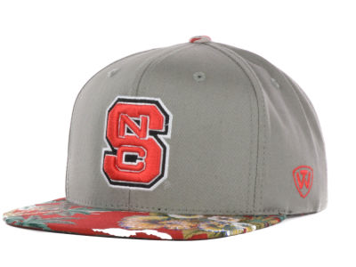 North Carolina State Wolfpack Top of the World NCAA Shoreline Snapback Cap