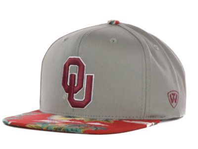 Oklahoma Sooners Top of the World NCAA Shoreline Snapback Cap