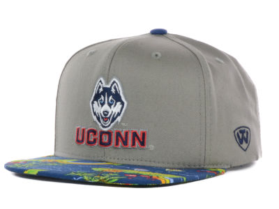Connecticut Huskies Top of the World NCAA Shoreline Snapback Cap