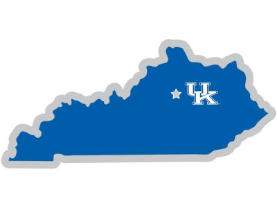 Kentucky Wildcats State with Mascot Decal