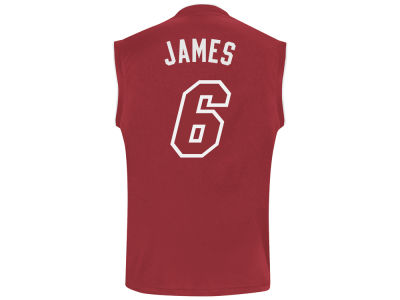 Miami Heat LeBron James NBA Youth Revolution 30 Pride Replica Jersey
