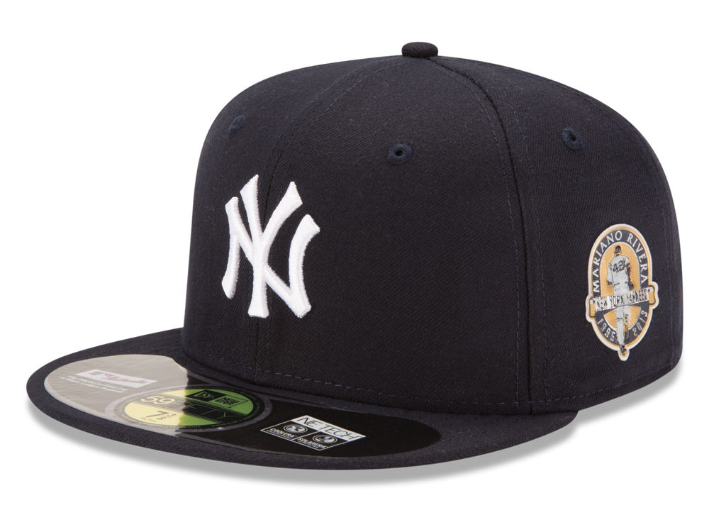 db0fe9705a6 New York Yankees New Era MLB Rivera Side Patch On Field 59FIFTY Cap ...