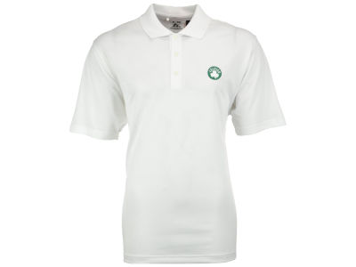 Boston Celtics adidas NBA Climalite Textured Polo