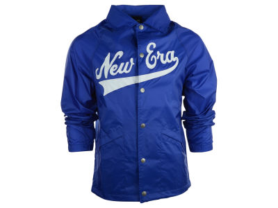New Era Branded Script Coach Jacket