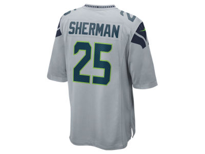 Seattle Seahawks Richard Sherman Nike NFL Men's Game Jersey