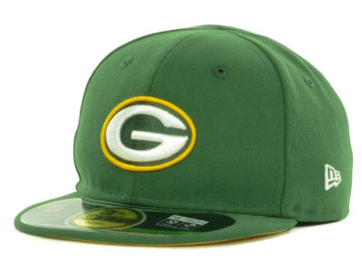 Green Bay Packers New Era NFL Infant My First OnField 59FIFTY Cap